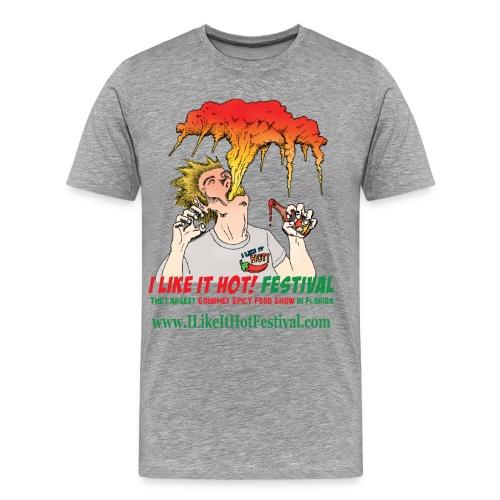 I Like it HOT! Festival 2016 Men's T-Shirt - Men's Premium T-Shirt