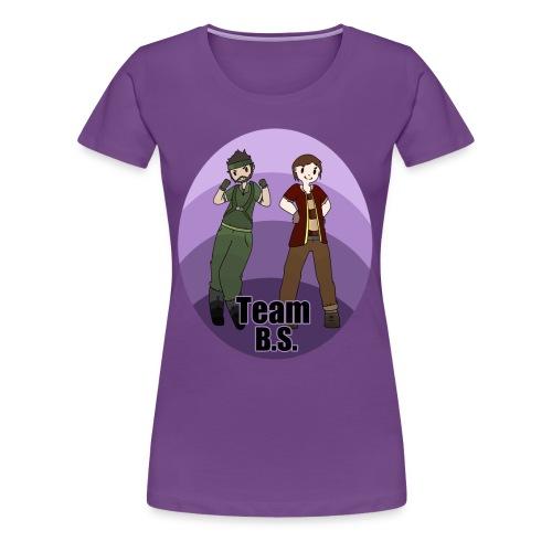 Team B.S. Women's Premium T-Shirt (Style 1) - Women's Premium T-Shirt