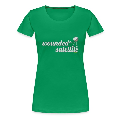 Wounded Satellite (hers) - Women's Premium T-Shirt