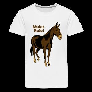 Mules Rule! - Kid's - Kids' Premium T-Shirt