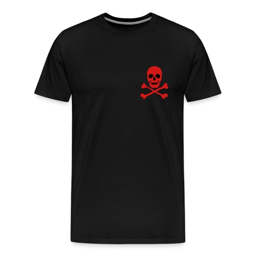 Small Skull and Crossbones - Men's Premium T-Shirt