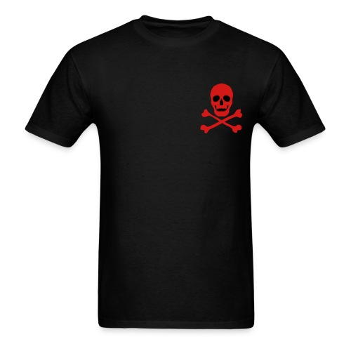 Small Skull and Crossbones - Men's T-Shirt
