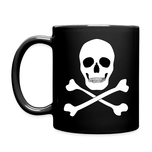 Small Skull and Crossbones - Full Color Mug