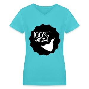 Natural Chic!! - Women's V-Neck T-Shirt