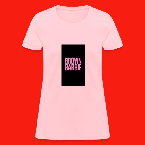 Brown Barbie Tee - Women's T-Shirt