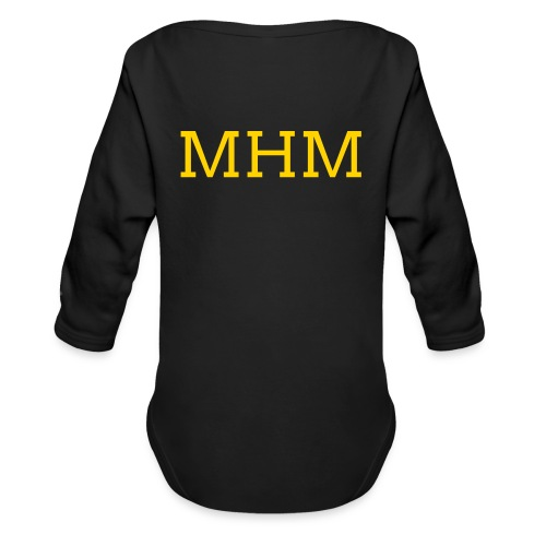MHM Long Sleeve Shirts - Organic Long Sleeve Baby Bodysuit