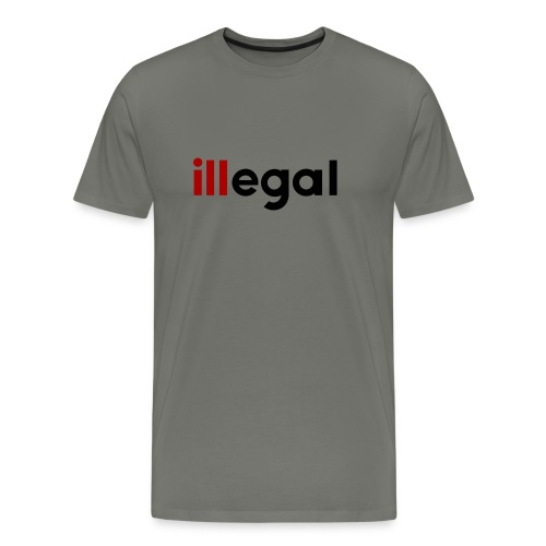 illegal - ill - Men's Premium T-Shirt