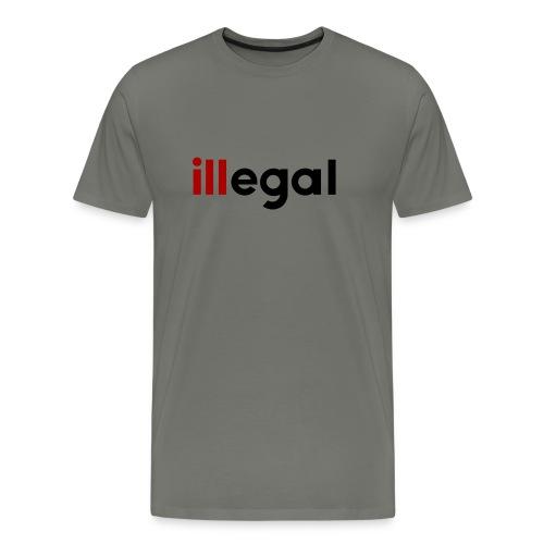 illegal - ill - Men's Premium T-Shirt