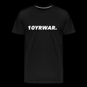 10YRWAR LOGO TEE - Men's Premium T-Shirt