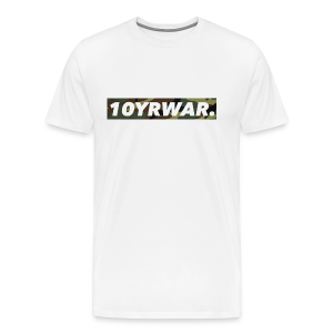 10YRWAR LOGO TEE CAMO  - Men's Premium T-Shirt