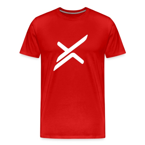 Xose Logo - Red Tee - Men's Premium T-Shirt
