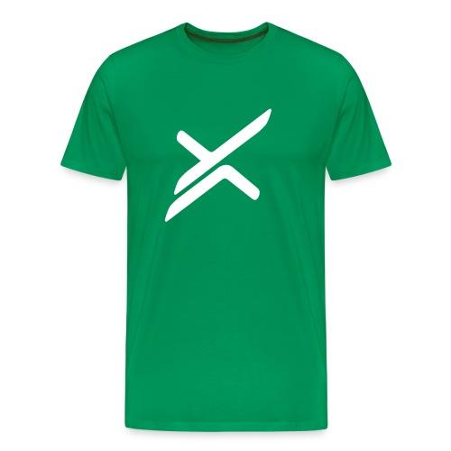 Xose Logo - Green Tee - Men's Premium T-Shirt