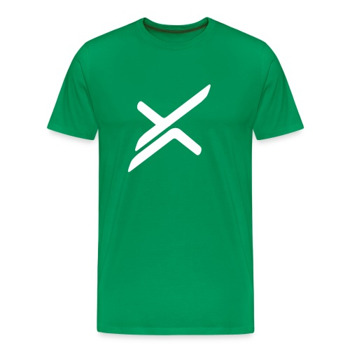 Xose Logo - Green Tee - Men's Premium T-Shirt