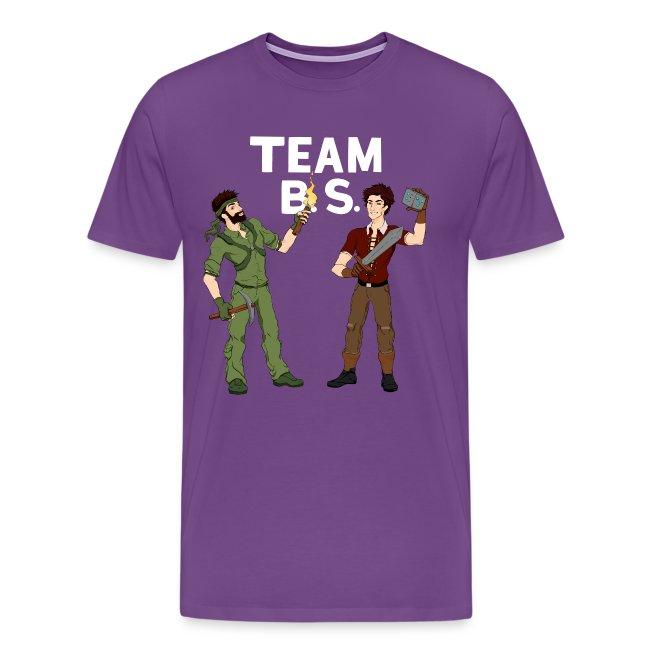 Team B.S. Men's Premium T-Shirt (Style 3)