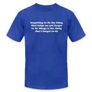 T-Shirts ~ Men's T-Shirt by American Apparel ~ Article 105754303