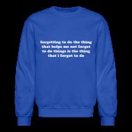 Long Sleeve Shirts ~ Crewneck Sweatshirt ~ Article 105754299