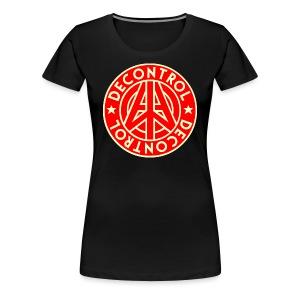 Women's Decontrol Symbol T - Women's Premium T-Shirt
