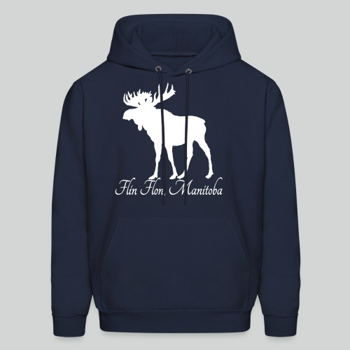 MOOSE Lightweight Hoodie (White Print) *Multiple Colorways* - Men's Hoodie