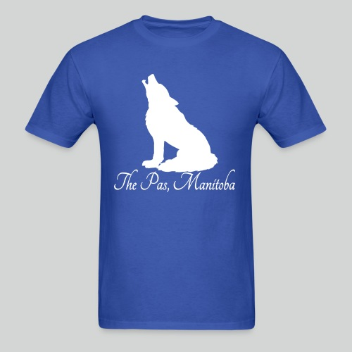 WOLF T-Shirt (White Print) *Multiple Colorways* - Men's T-Shirt