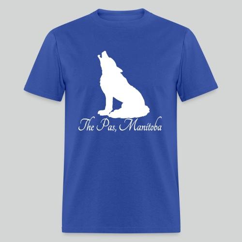 WOLF T-Shirt (White Print) *Multiple Colorways* - Men's T-Shirt