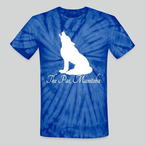 WOLF Tie Dye T-Shirt (White Print) *Multiple Colorways* - Unisex Tie Dye T-Shirt