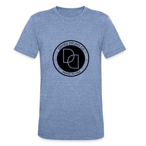 Unisex Davies Drums Co. Tri Blend T-shirt BlackLogo - Unisex Tri-Blend T-Shirt