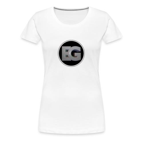 EliteGaming Logo Women's Premium Shirt - Women's Premium T-Shirt