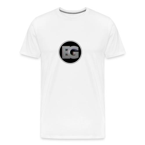 EliteGaming Logo Men's Premium Shirt - Men's Premium T-Shirt
