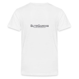 EliteGaming Logo & Banner Kid's Shirt - Kids' Premium T-Shirt