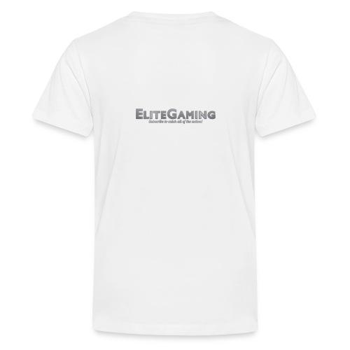 EliteGaming Logo & Banner Kid's Shirt - Kids' Premium T-Shirt
