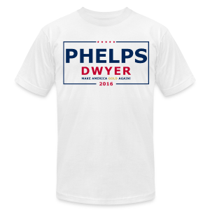 Phelps Dwyer 2016 - Men's Fine Jersey T-Shirt