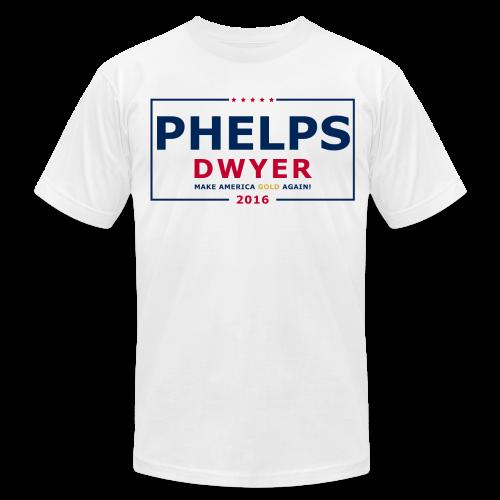 Phelps Dwyer 2016 - Men's Fine Jersey T-Shirt