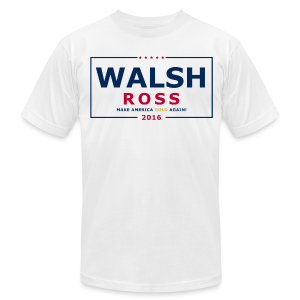 Wash Jennings Ross 2016 - Men's Fine Jersey T-Shirt