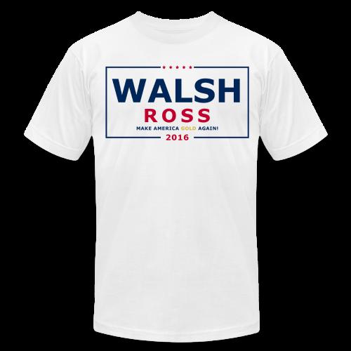 Wash Jennings Ross 2016 - Men's Fine Jersey T-Shirt
