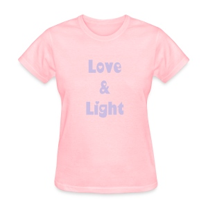 Love & Light Women's T-Shirt - Women's T-Shirt