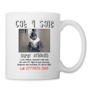 Cat 4 Sale Mug - Coffee/Tea Mug