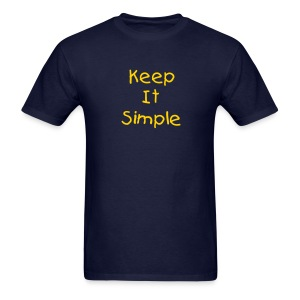 Keep It Simple Men's T-Shirt - Men's T-Shirt