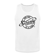 Sportswear ~ Men's Premium Tank ~ Serenity Happens - One Day At A Time
