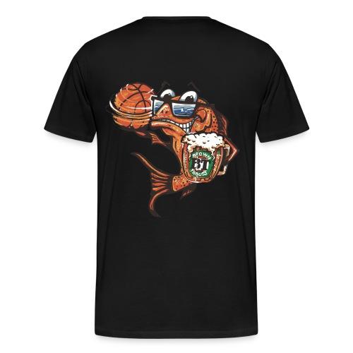 Brown Trout T - Men's Premium T-Shirt