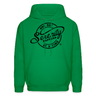 Hoodies ~ Men's Hoodie ~ Serenity Happens - One Day At A Time