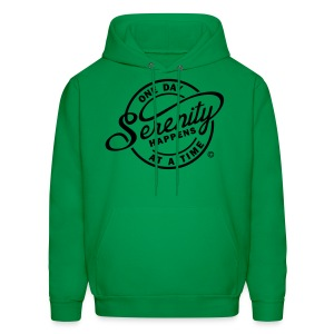 Serenity Happens - One Day At A Time - Men's Hoodie