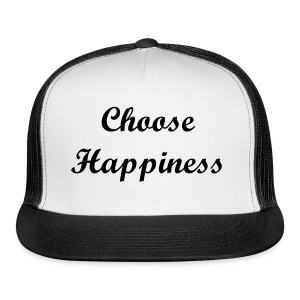 Choose Happiness Hat - Trucker Cap