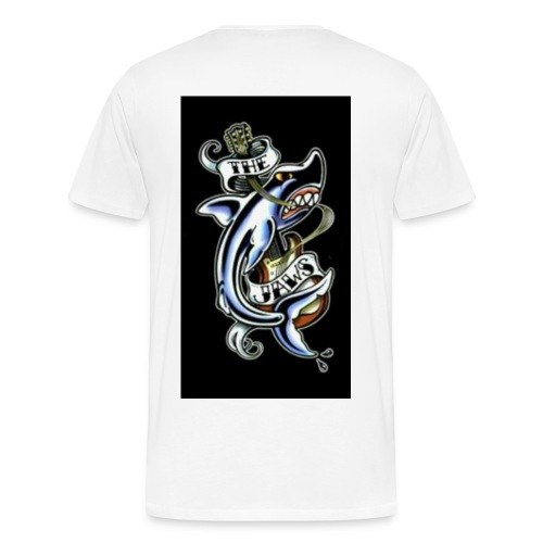 THE JAWS T - Men's Premium T-Shirt