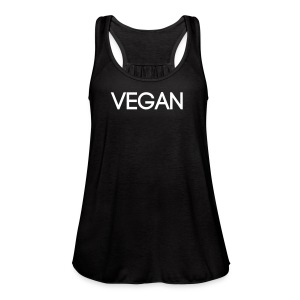 Vegan Singlet - Women's Flowy Tank Top by Bella