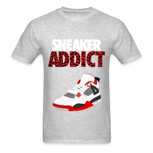 sneaker addict shirt - Men's T-Shirt