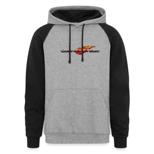 CosmicMeteor T-Shirt - Colorblock Hoodie