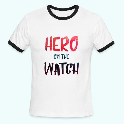 Hero T-shirt for men - Men's Ringer T-Shirt