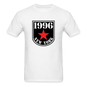White 1996 NY Love the Club Men's T-shirt - Men's T-Shirt
