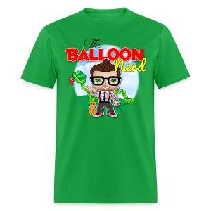 Mens Balloon Nerd - Men's T-Shirt