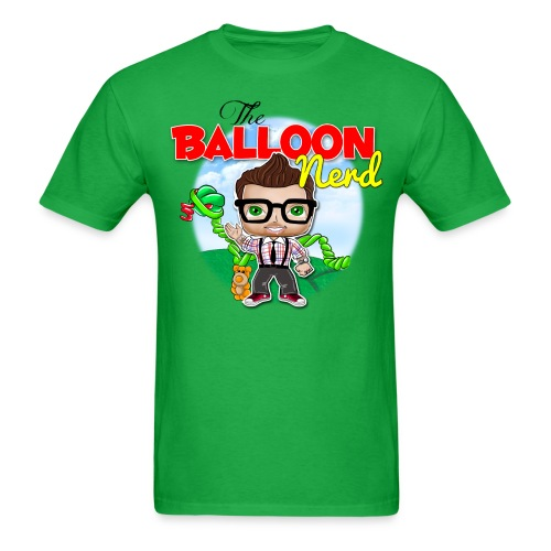 Mens Balloon Nerd - Men's T-Shirt